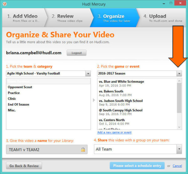 how to create a clip in hudl
