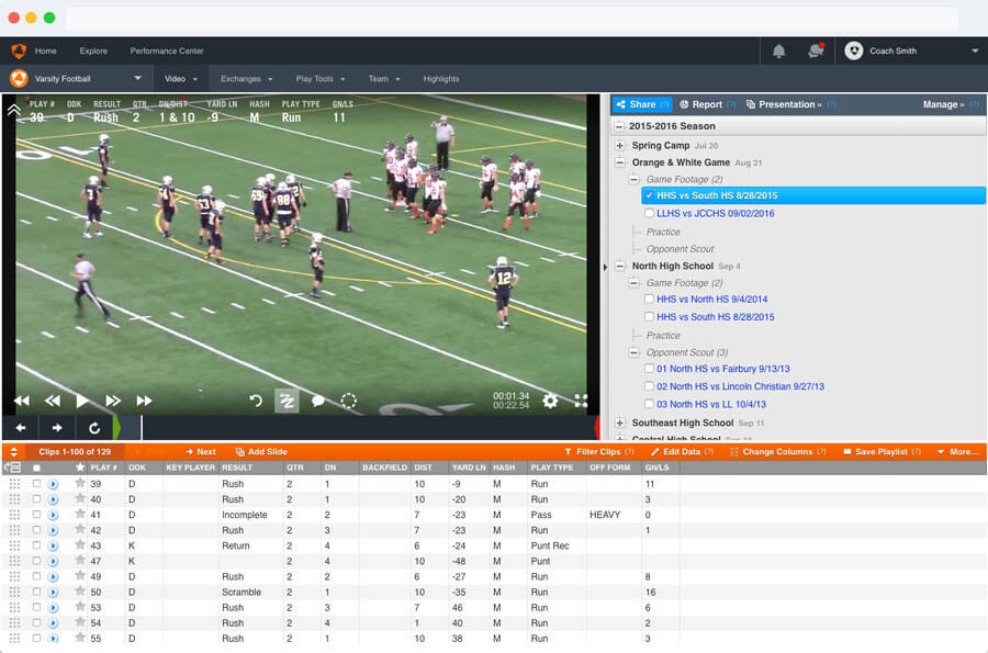 Hudl Classic Library