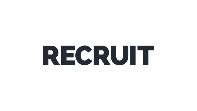 Recruit Logo Black