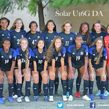Solar Soccer Club - Solar Soccer Club Girls U-16