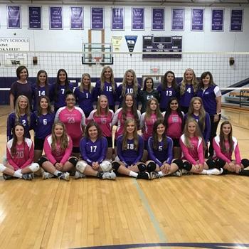 Garden County High School - Girls' Varsity Volleyball