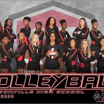 Jacksonville High School - Girls' Varsity Volleyball