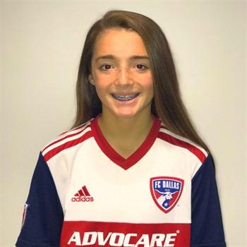 Kayla Sines #12 FC Dallas DA