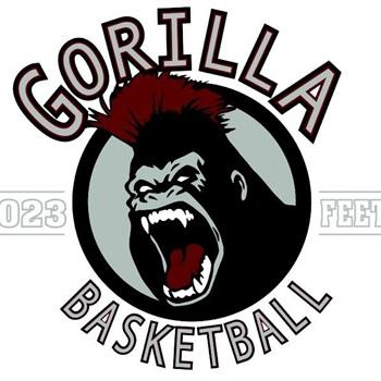 023 Feet Gorilla Basketball - 023 Feet 17U