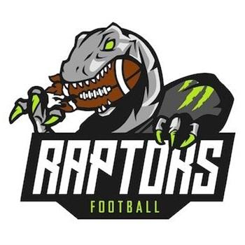 Raptors Athletics- AYL - Raptors Green - 5th Grade - White