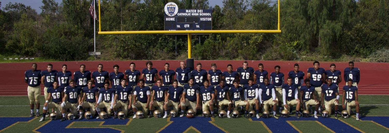 Boys Varsity Football Mater Dei High School Chula Vista