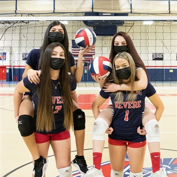 Revere High School - Girls' Varsity Volleyball