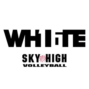 Sky High Volleyball - 16 White
