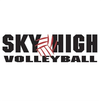Sky High Volleyball - 15 White