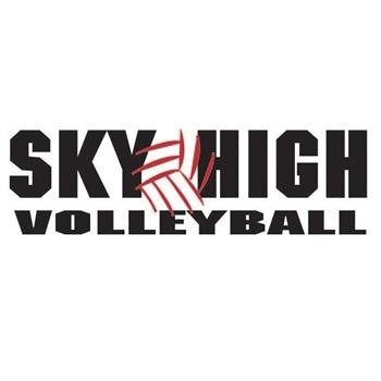 Sky High Volleyball - 17 Black
