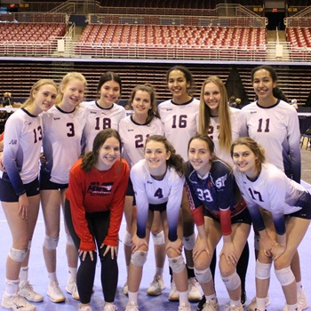 Academy Volleyball Cleveland - AVC 16 Red