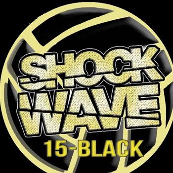 Shockwave Volleyball Academy - Shockwave 15 Black