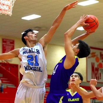 McAllen Memorial High School - Varsity Boys Basketball 2018-19