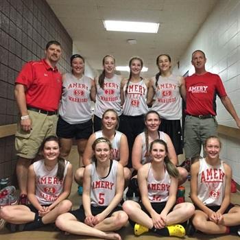 Amery High School - Girls' Varsity Basketball - New