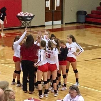 Salado High School  - Girls Varsity Volleyball
