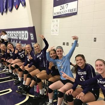 Beresford High School - Girls Varsity Volleyball