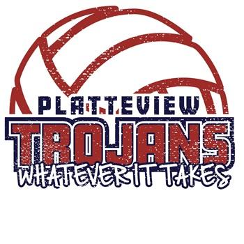 Platteview High School - Trojan Varsity Volleyball
