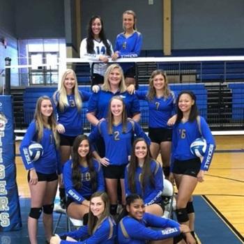 Rockdale High School - Rockdale Lady Tigers Varsity Volleyball