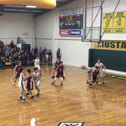 Pillow Academy Boys Varsity Basketball Share Greenwood Ms