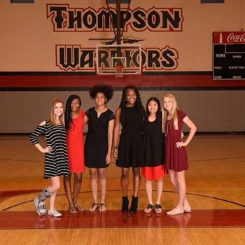 Thompson High School - Girls' JV Basketball