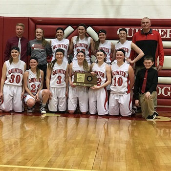 Quinter High School - Girls Varsity Basketball
