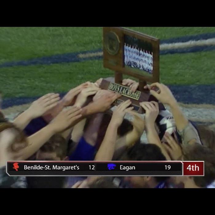 Boys' Varsity Lacrosse - Eagan High School - Eagan, Minnesota