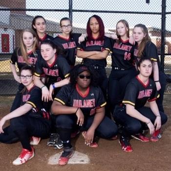 Dulaney High School - Dulaney Girls' JV Softball