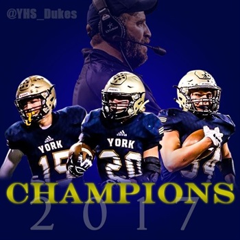 York High School - Boys Varsity Football