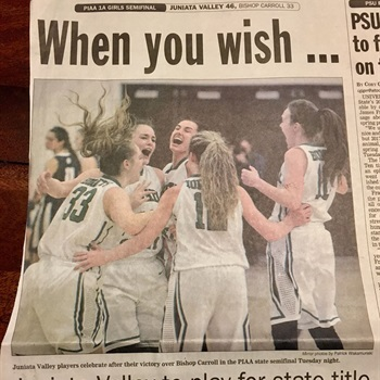 Juniata Valley High School - Girls' Varsity Basketball