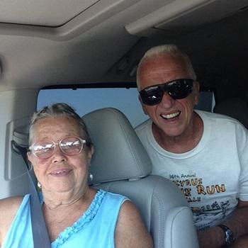 Grandma and Grandpa Burkholder