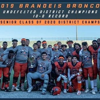 Brandeis High School - Boys Varsity Football