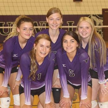 Burwell High School - Girls' Varsity Volleyball