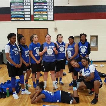 Hamilton High School - Girls Varsity Basketball