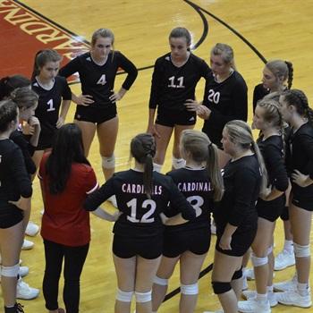 Landrum High School - Girls' JV Volleyball