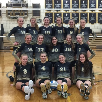 Andover High School - Girls' Varsity Volleyball