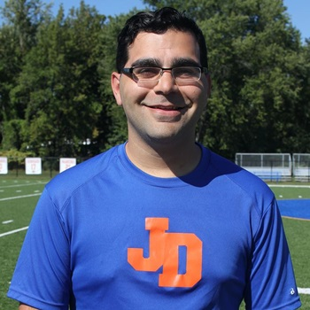 Dan Jamnick Assistant volunteer Coach