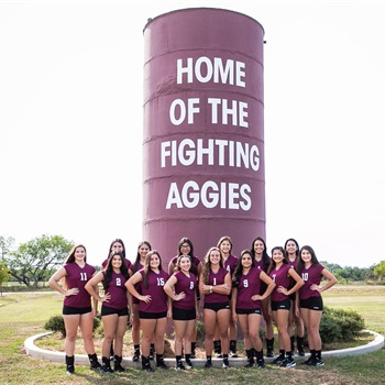 Poteet High School - Aggie Volleyball