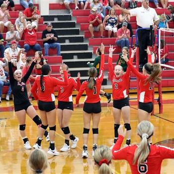 Bremond High School - Bremond Varsity Volleyball