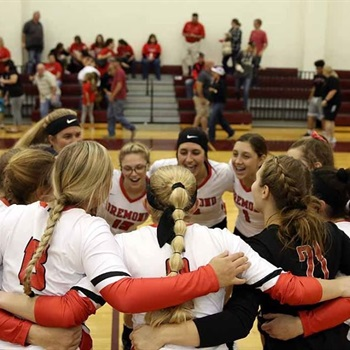Bremond High School - Bremond Varsity Volleyball