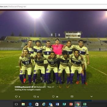 Clovis High School - Boys Varsity Soccer