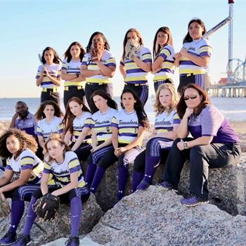 Girls Varsity Softball Ball High School Galveston Texas