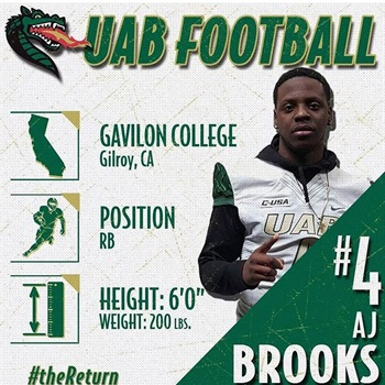 Anthony (AJ) Brooks Jr.