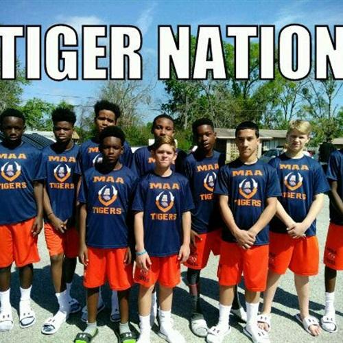 MAA TIGERS - MAA Spring PeeWee Tigers