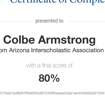 COLBY ARMSTRONG