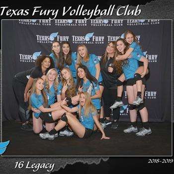 Texas Fury Volleyball Club - Texas Fury 17 Legacy