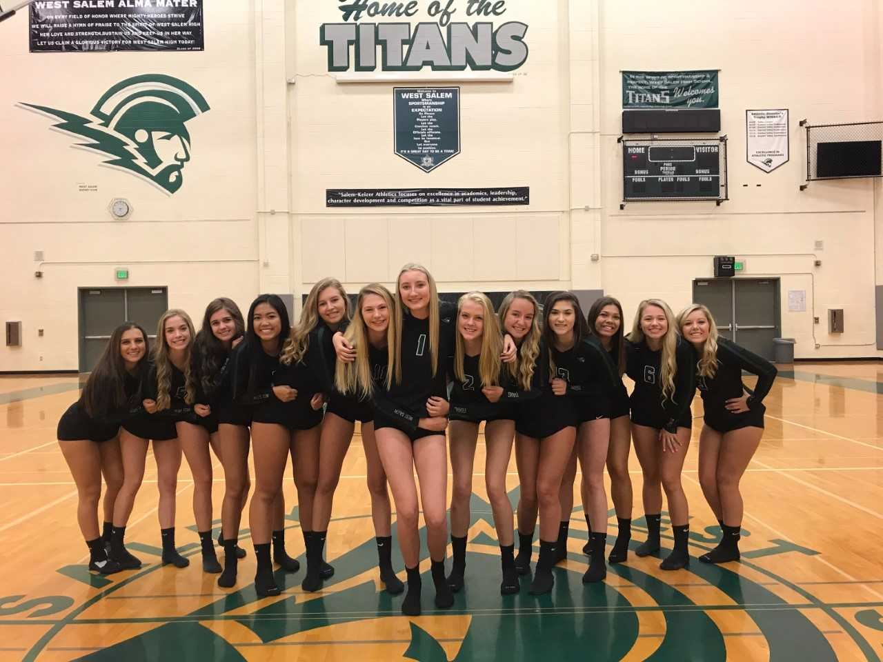 West Salem High School - Girls Varsity Volleyball