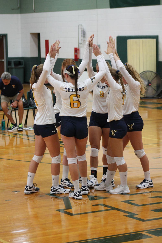 Trenton High School - Trojan Varsity Volleyball
