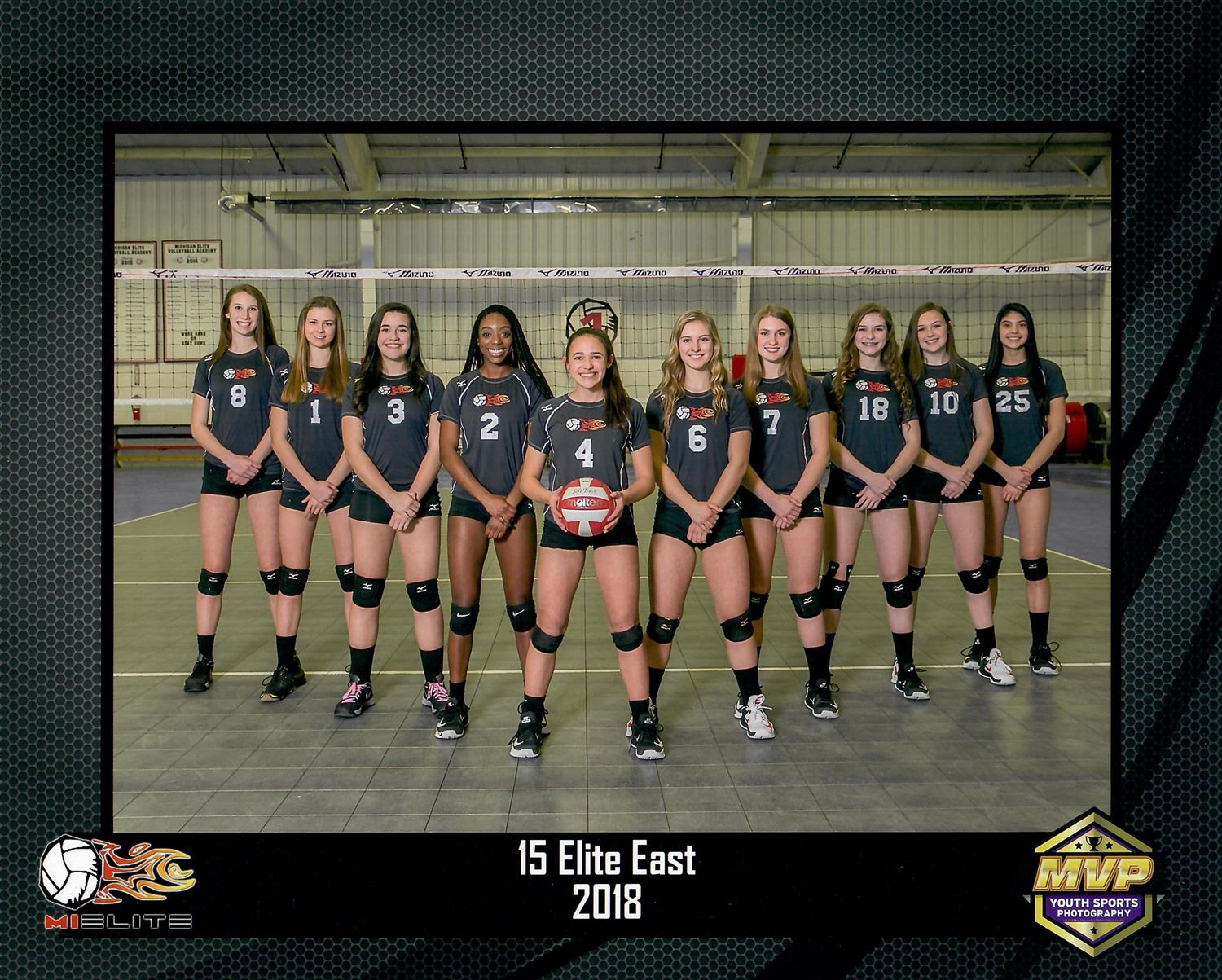 Mielite 15 Elite East Michigan Elite Volleyball Academy Mevba Warren Michigan Volleyball Hudl