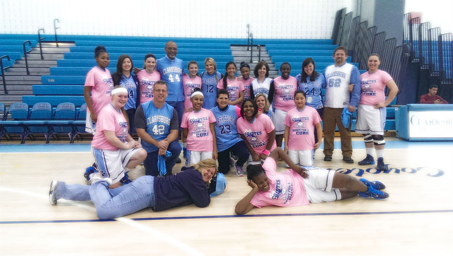 Clarksburg High School - Girls' JV Basketball