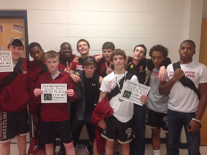 Florida High School - Boys Varsity Wrestling